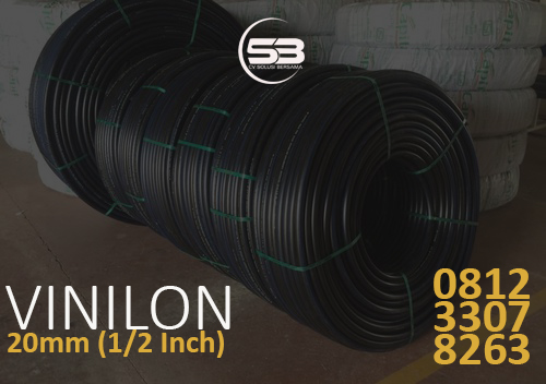 Stok Pipa HDPE Vinilon 20 mm http://hargapipahdpe.co.id/